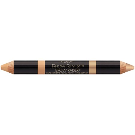 L'Oreal Paris Brow Stylist Brow Raiser Highlighter Duo, Deep (Duo Eyebrow)