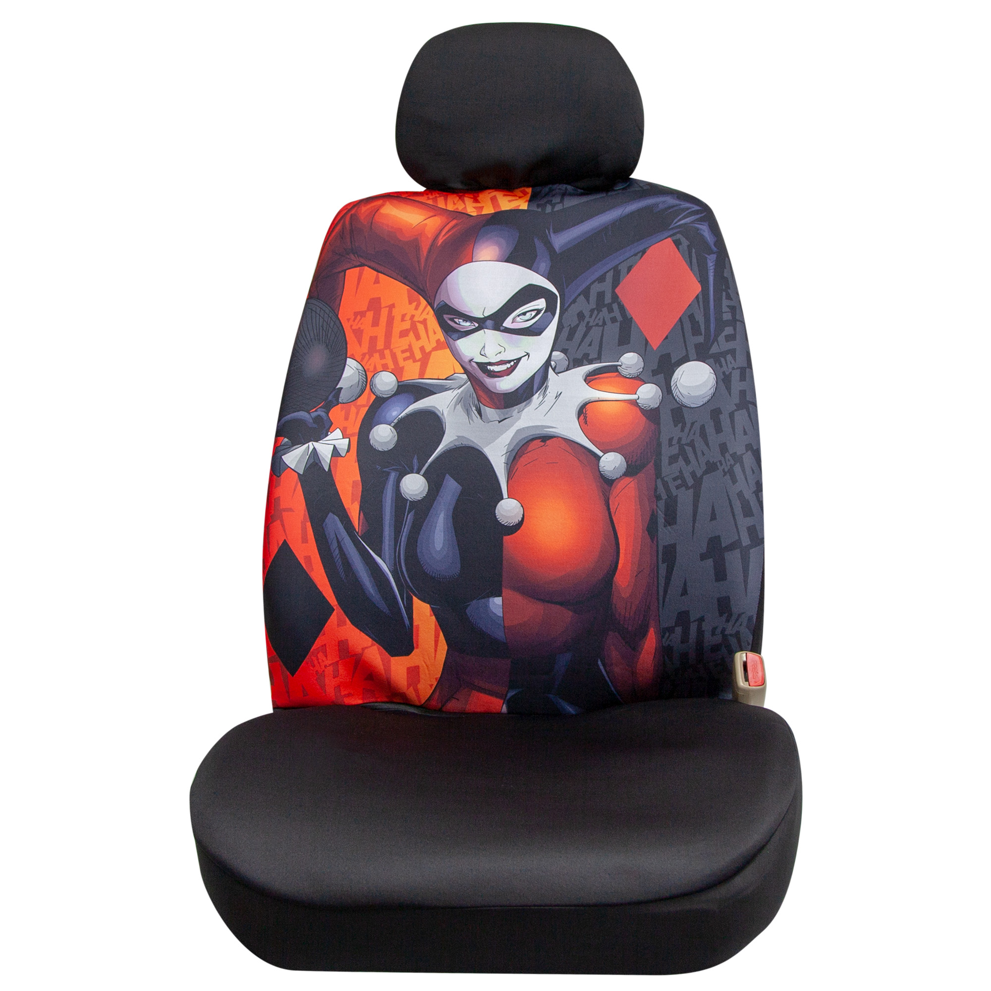 Batman Harley Quinn Lowback Seat Cover with Headrest Cover