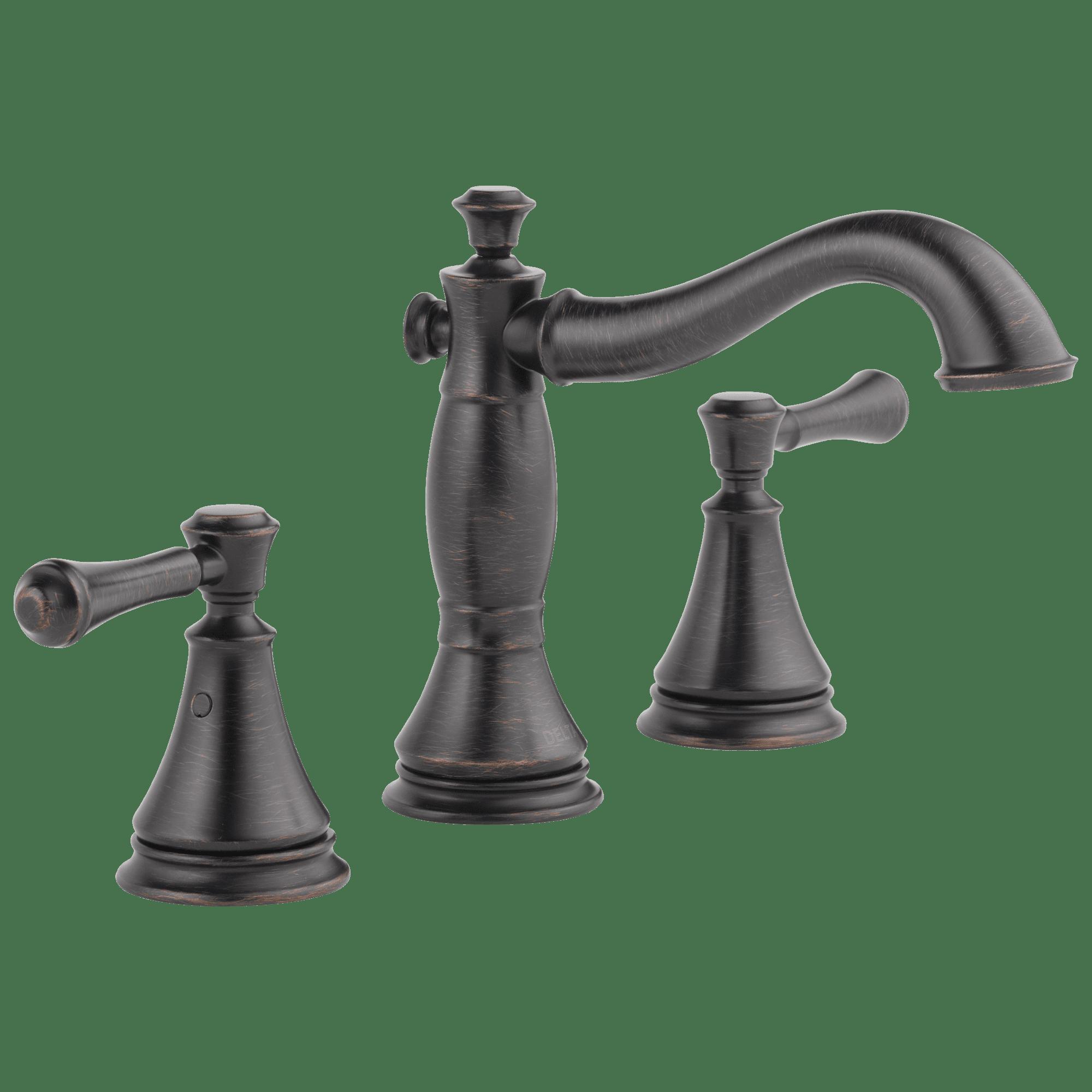 Delta Faucet 3597LF-MPU Delta 3597LF-MPU Cassidy Widespread Bathroom Faucet with Pop-Up Drain Assembly - - Venetian