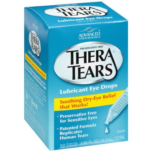 Thera Tears Lubricant Eye Drops, .65 fl oz