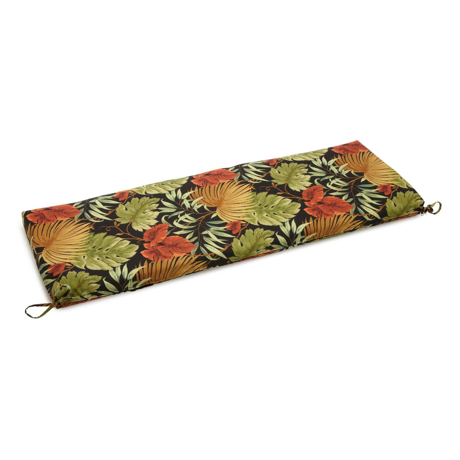 Blazing Needles 54 x 19 in. Outdoor UV Resistant Patio Bench   Swing Cushion by Blazing Needles