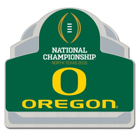 Oregon Ducks WinCraft 2015 College Football Playoff National Championship Bound Participant Collector Pin - No Size 2007 Playoff National Treasures