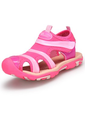Boy's Girl's Summer Breathable Sport Close Toe Sandals Strap Beach Shoes (Little Kid/Big Kid)
