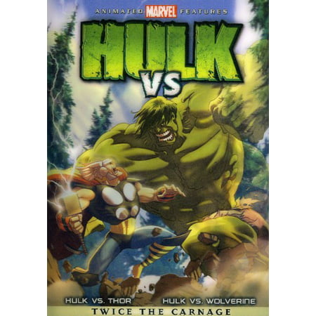 Hulk Vs. (DVD) (Hell In A Cell Mankind Vs Kane)