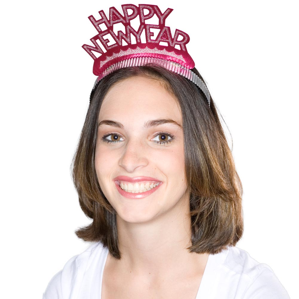 Happy New Year Tiaras (Pack of 50)