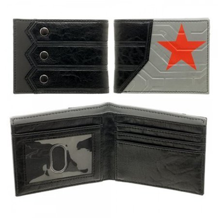 Wallet - Marvel - Winter Solider Suit Up Boxed Licensed New - Wallet Writer