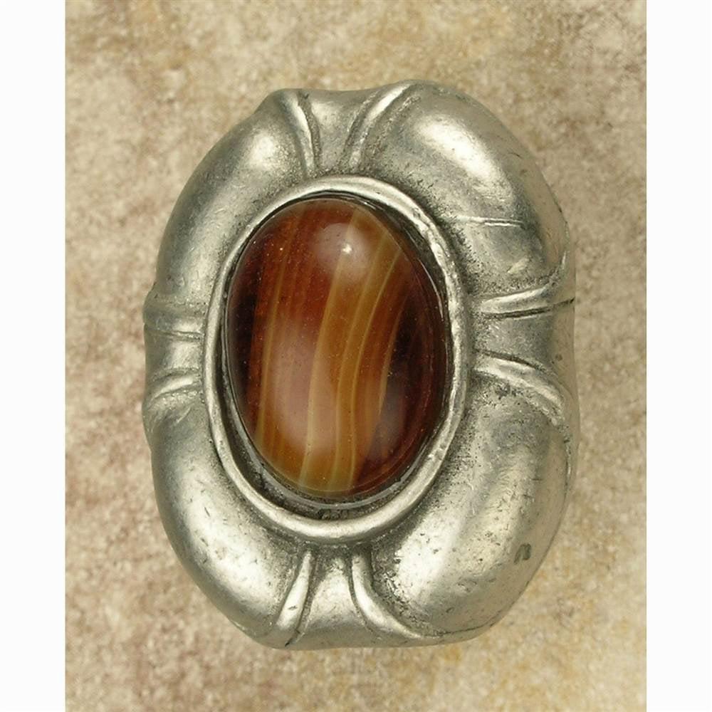 Philippe insert knob-lg (Antique Bronze)