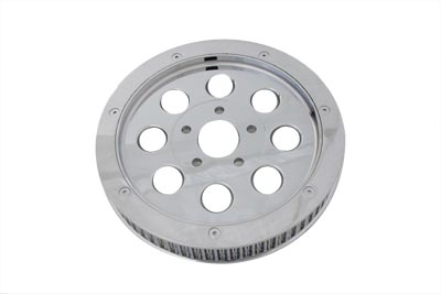 Chrome 65 Tooth Outer Pulley Cover,for Harley Davidson,by V-Twin
