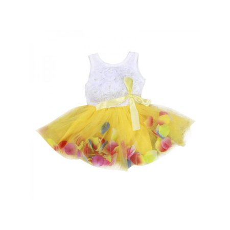 Cluxwal Baby Girls Party Dresses Embroidery Lace Tulle Tutu Dress Christening Baptism Gown for Baby Girl