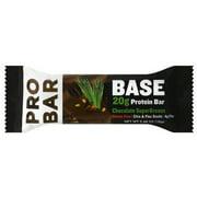 ProBar Base Chocolate SuperGreens 20g Protein Bar, 2.46 oz, (Pack of 12)