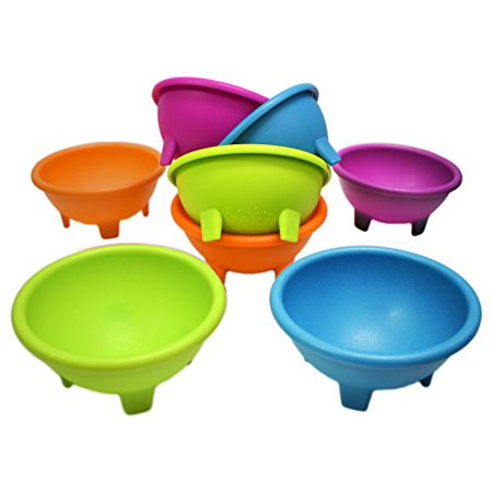 Set of 8 Multi Color Black Duck Brand 4.5