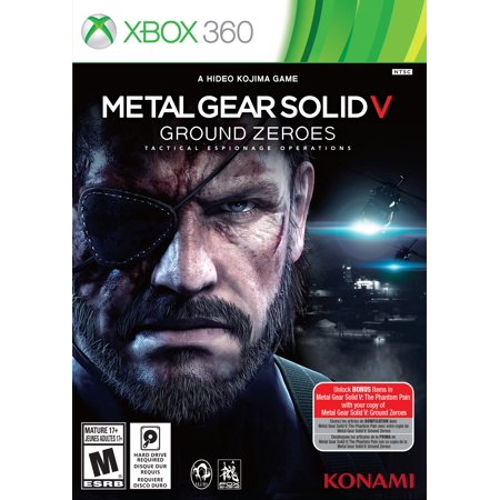 Metal Gear Solid V Ground (Xbox 360) (Metal Gear Solid Games For Xbox 360)
