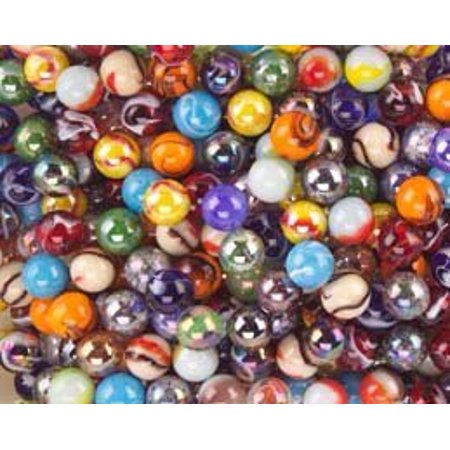 """Mega Marbles Player Marbles (Set of 24), Assorted, 5/8"""" - image 1 of 1"""