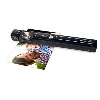 Vupoint Solutions Magic Wand Portable Scanner with Color LCD Display