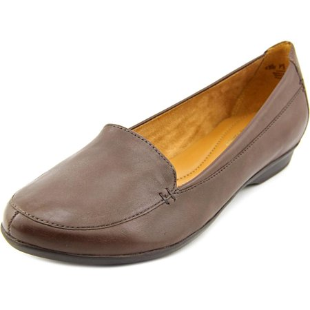 Naturalizer Saban Women  Round Toe Leather Brown Loafer