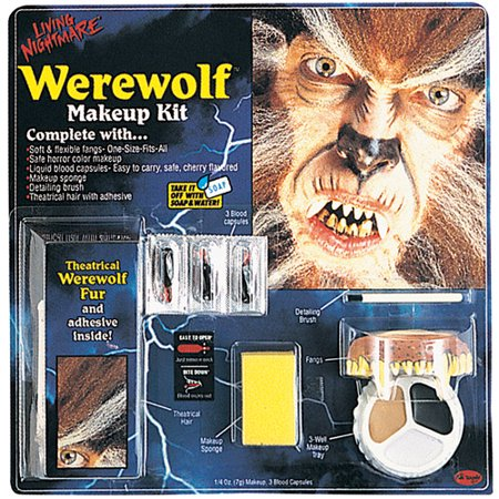 Living Nightmare Werewolf Kit Halloween Accessory