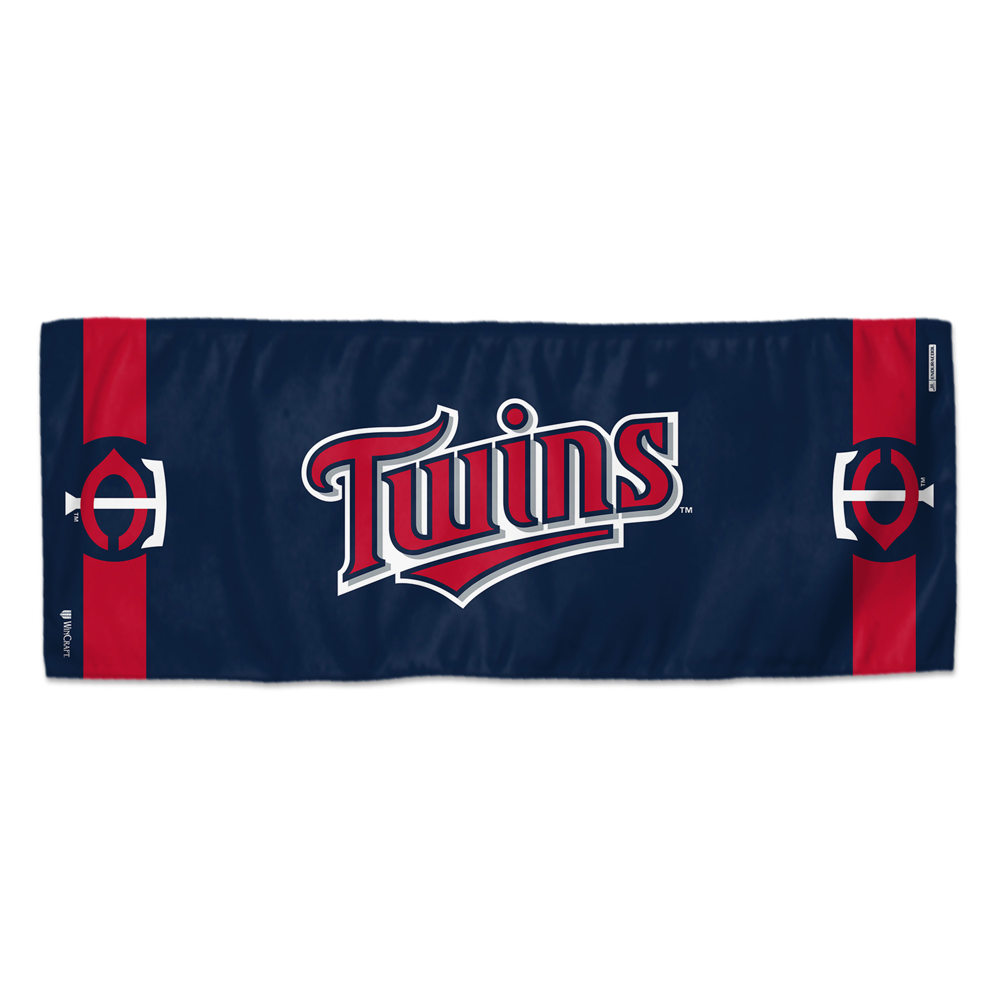 "Minnesota Twins WinCraft 12"" x 30"" Double-Sided Cooling Towel - No Size"