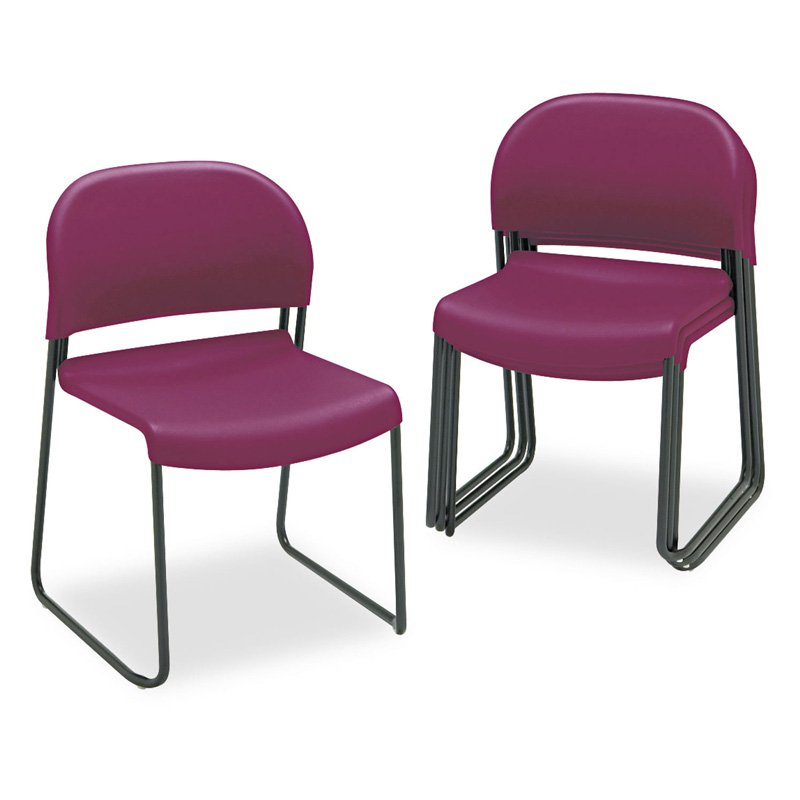 HON GuestStacker Set of 4 Chairs