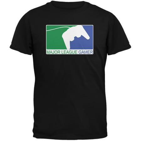 Major League Gamer Black Youth T-Shirt (Girl Gamer)