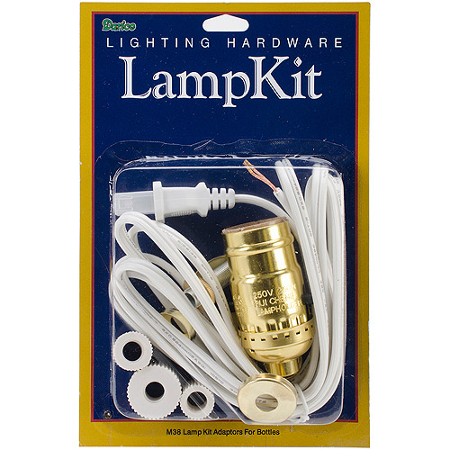 Lamp Kit with Adaptors for Bottles