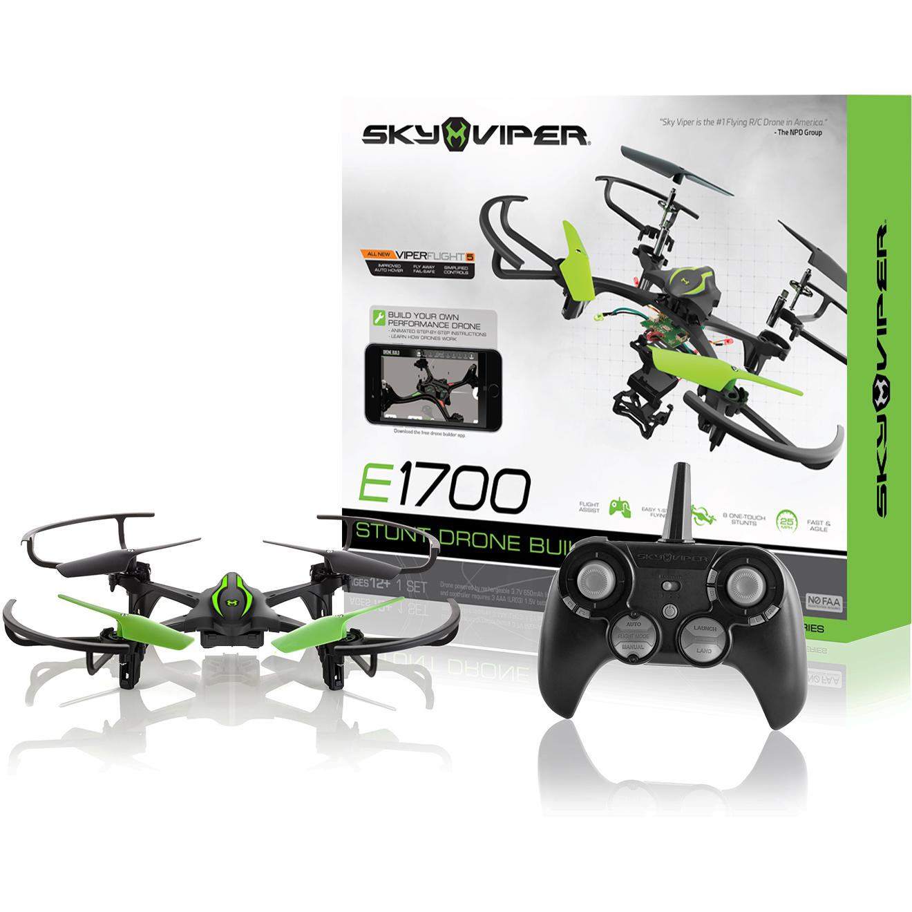 Sky Viper E1700 DIY Stunt Drone Builder (Do It Yourself)