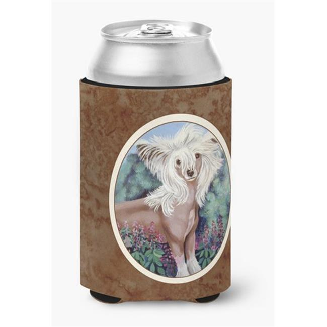 Carolines Treasures 7052CC Chinese Crested Can or Bottle Hugger, 0.25 x 4 x 5.5 in. - image 1 de 1