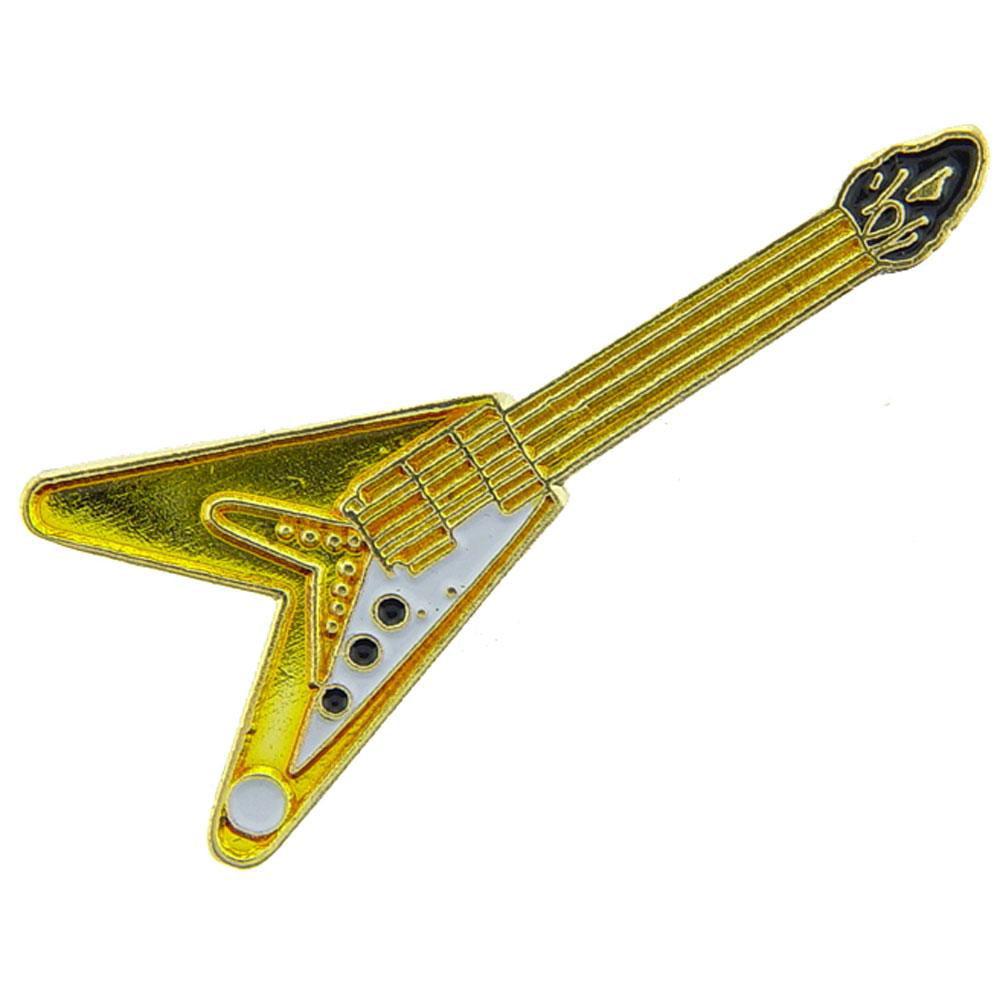 "V Shaped Electric Guitar Pin 1"""