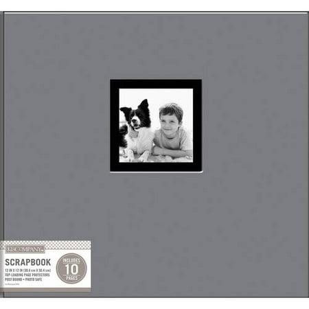 K&Company Fabric Post Bound Window Album, 12