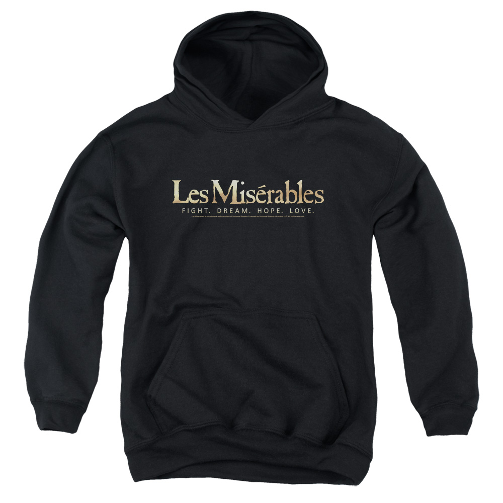 Les Miserables Logo Big Boys Pullover Hoodie