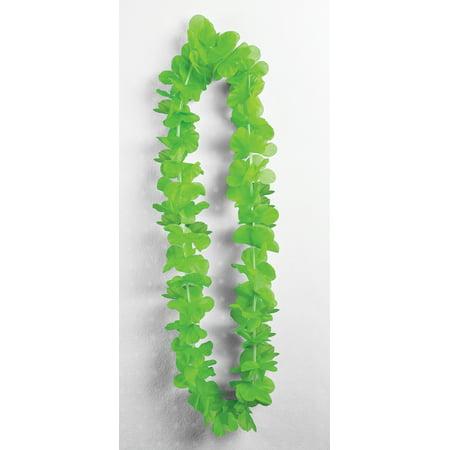 Green Silk Carnation Leis Luau Party Supplies Accessories 3 - Carnation Leis