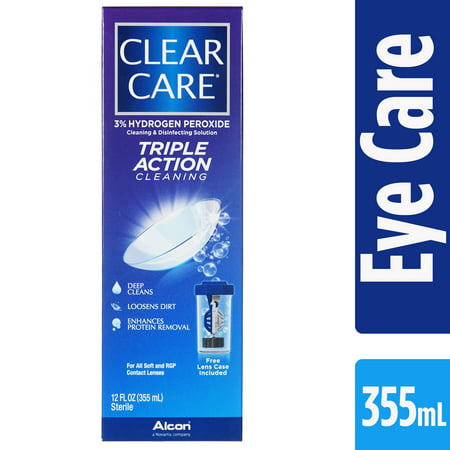 55w Clear Lens - CLEAR CARE Contact Lens Cleaning and Disinfecting Solution