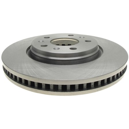 - AC Delco 18A1752A Brake Disc, Stock Replacement, Front Driver Or Passenger Side