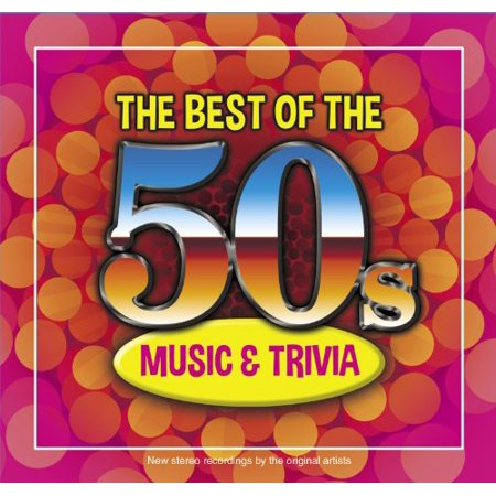 The Best Oof The 50s Music and Trivia (CD)