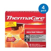 Ice & Hot Packs: ThermaCare Advanced Neck Pain