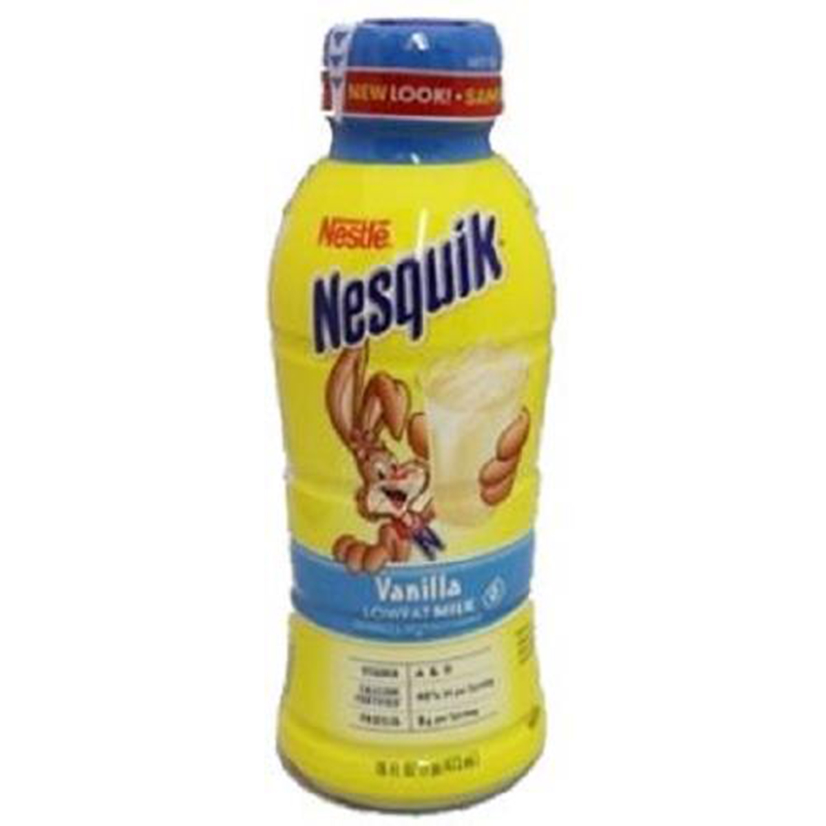 Product Of Nesquik, Low Fat Milk - Vanilla, Count 12 (14 oz) - Milk/Yogurt/Smoothie / Grab Varieties & Flavors