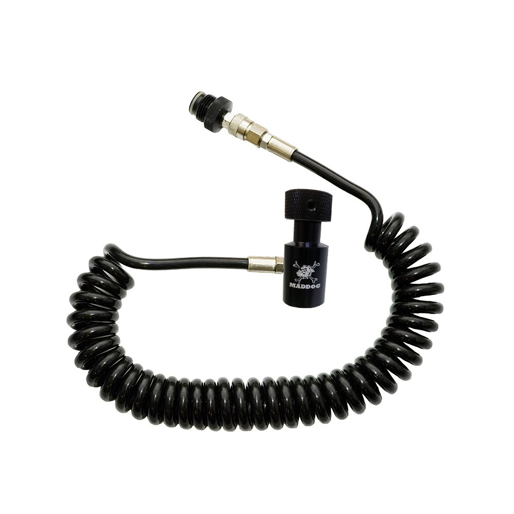 Maddog Heavy Duty Paintball Tank Remote Coil