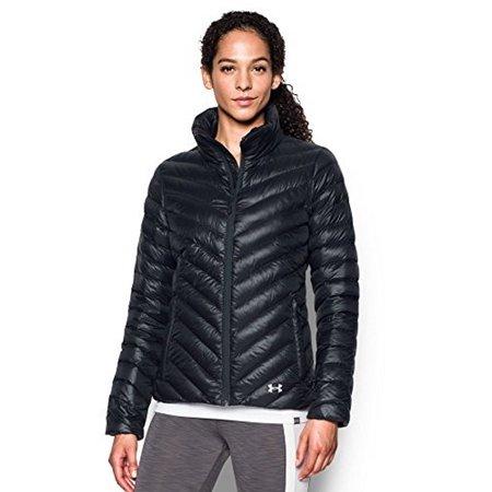 Under Armour Womens UA CGI Uptown Jacket, Black/GLACIER GRAY, SM (Uptown Coat)