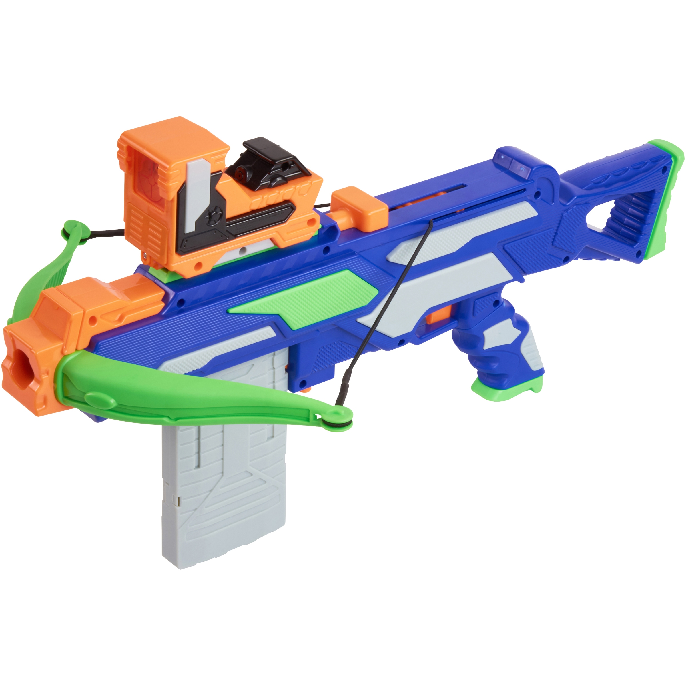 Adventure force crossbow with darts and clips, battery operated