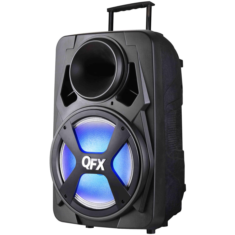 "QFX PBX-151 15"" High-Powered Pro Party Bluetooth Speaker"