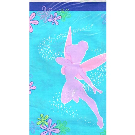 Tinkerbell Table Cover (Tinker Bell 'Tink' Paper Table Cover)