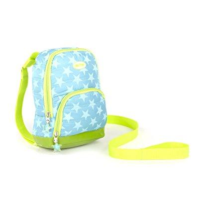 Nuby 2 In 1 Quilted Backpack Harness Turquoise Stars Child Leash