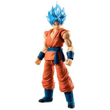 Dragon Ball Z Shodo Super Saiyan God Goku PVC Figures