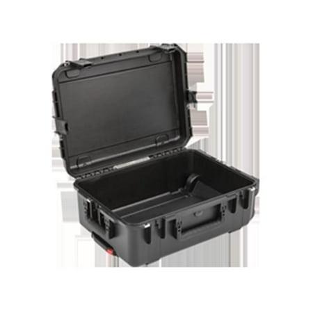 SKB 3I-2215-8B-E iSeries Waterproof Utility Case with Wheels - Black, 24.58 x 18 x 9.65 in.
