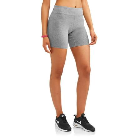 Athletic Works Women's Dri-Works Active Bike Short (Bicycle Shorts Women)