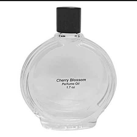 - Cherry Blossom Perfume Oil - 1.7 Oz in Premium Glass Bottle