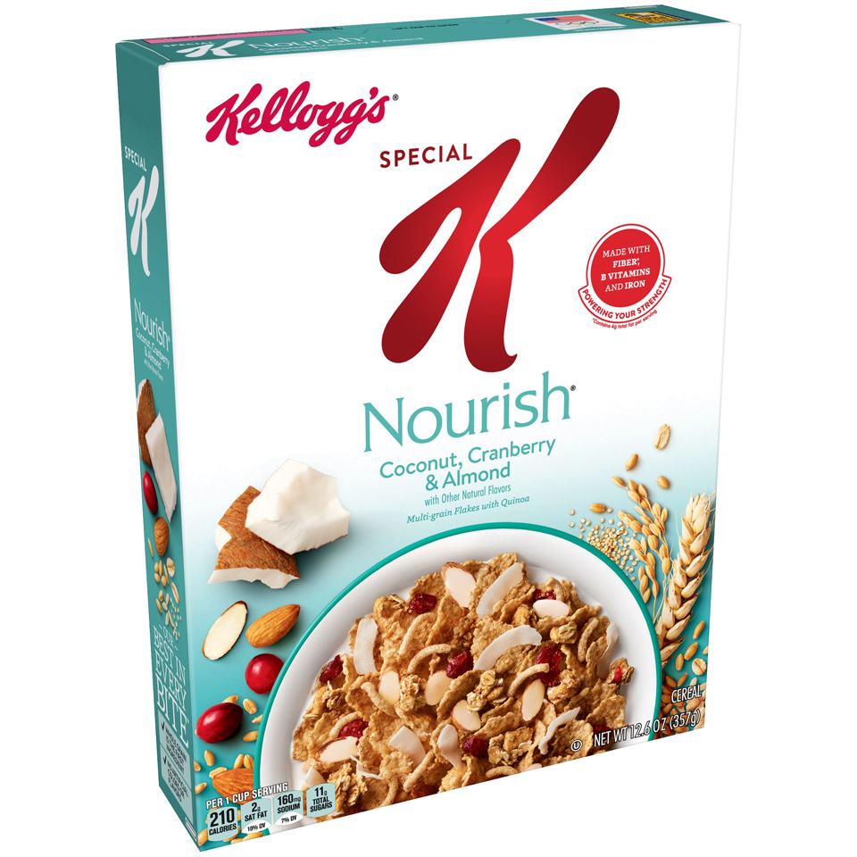 Kellogg's Special K Cereal Coconut Almond 12.6oz