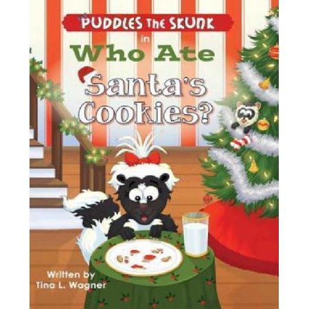 Puddles The Skunk In Who Ate Santas Cookies