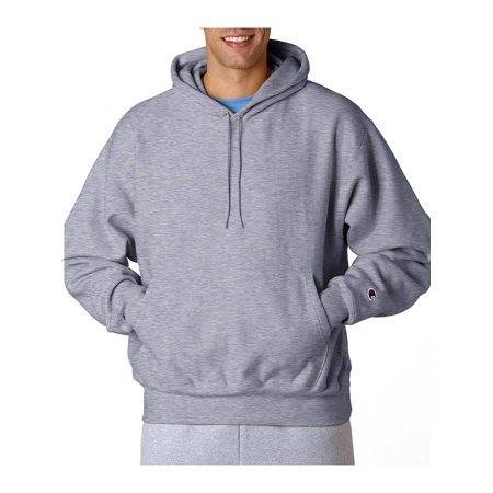 Champion 12 oz. 82/18 Reverse Weave Pullover Hood, Oxford Gray, S - image 1 of 1