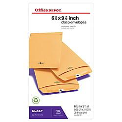 Office Depot® Brand Clasp Envelopes, 6 1/2