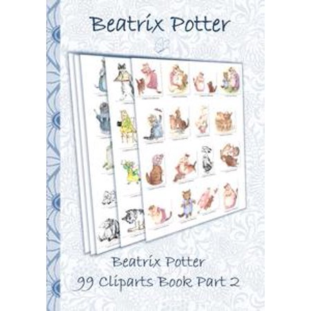 Beatrix Potter 99 Cliparts Book Part 2 ( Peter Rabbit ) - eBook Beatrix Potter Mrs Rabbit